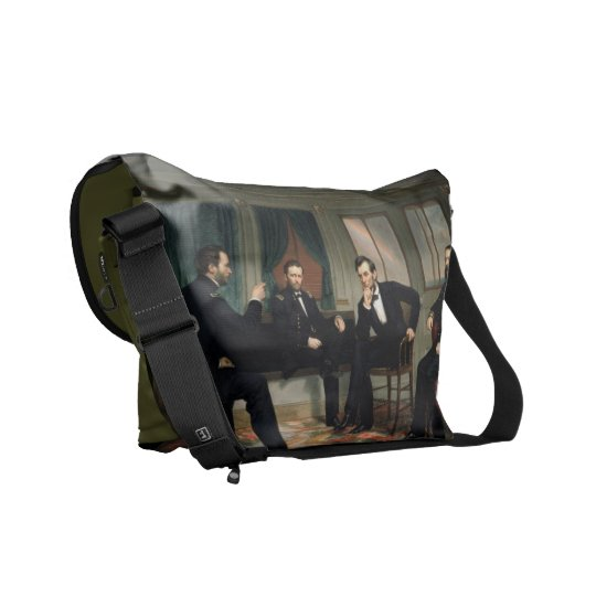 Abraham Lincoln Peacemakers Messenger Bag