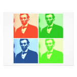 Abraham Lincoln Personalized Announcement