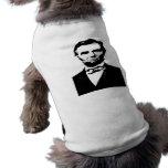 Abraham Lincoln Pet Shirt
