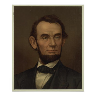 Abraham Lincoln Picture Framed Print