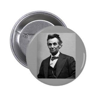 Abraham Lincoln Pin Redondo 5 Cm