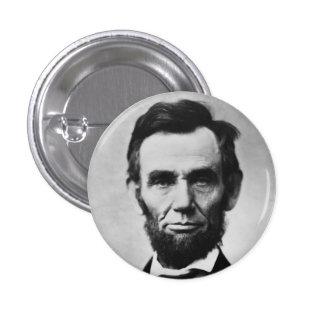 Abraham Lincoln Pin Redondo De 1 Pulgada