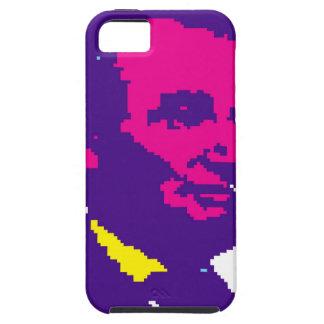 Abraham Lincoln Pixelated iPhone 5 Funda