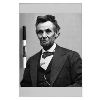 Abraham Lincoln Pizarras Blancas De Calidad