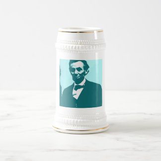 Abraham Lincoln Pop Art Beer Stein