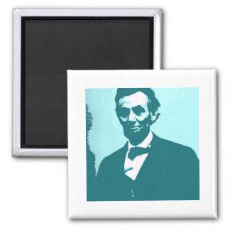 Abraham Lincoln Pop Art Magnet