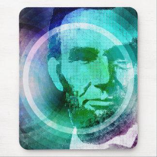Abraham Lincoln Pop Art Mouse Pad