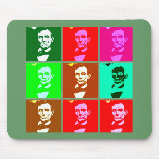 Abraham Lincoln Pop Art T-shirts Sweats Mouse Pads