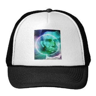 Abraham Lincoln Pop Art Trucker Hat