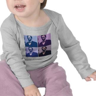 Abraham Lincoln Pop Art Tshirt