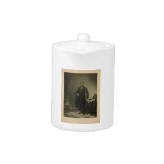 Abraham Lincoln por la coronilla de Guillermo