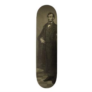 Abraham Lincoln por la coronilla de Guillermo Patín Personalizado