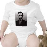 Abraham Lincoln Portrait Bodysuits