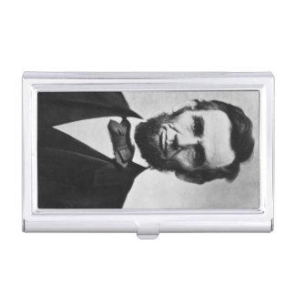 Abraham Lincoln Portrait Business Card Case