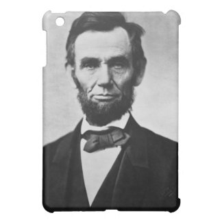 Abraham Lincoln Portrait by Alexander Gardner iPad Mini Cases