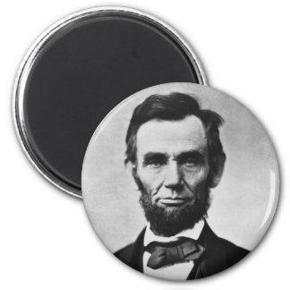 Abraham Lincoln Portrait by Alexander Gardner Magnet