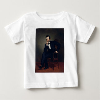 Abraham Lincoln Portrait by George Healy Baby T-Shirt