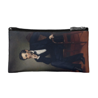 Abraham Lincoln Portrait by George Healy Cosmetic Bag