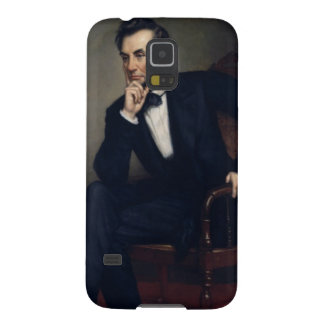 Abraham Lincoln Portrait by George Healy Galaxy S5 Cases