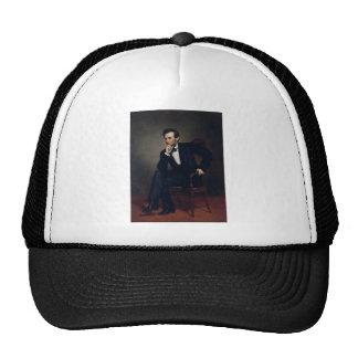 Abraham Lincoln Portrait by George Healy Trucker Hat