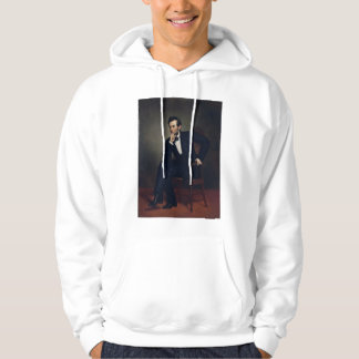 Abraham Lincoln Portrait by George Healy Hoodie