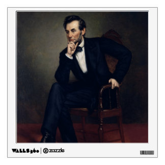 Abraham Lincoln Portrait by George Healy Wall Decal