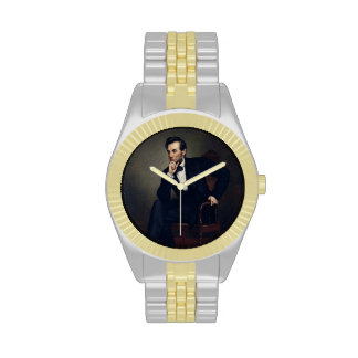 Abraham Lincoln Portrait by George Healy Wristwatches