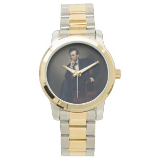 Abraham Lincoln Portrait by George Healy Wristwatch