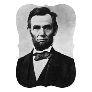 Abraham Lincoln Portrait Card