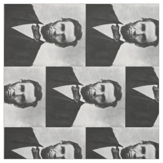 Abraham Lincoln Portrait Fabric