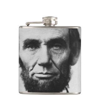 Abraham Lincoln Portrait Flask