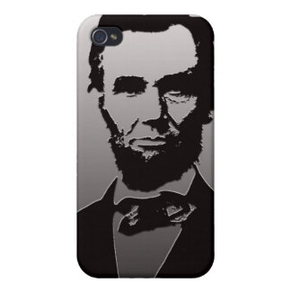 Abraham Lincoln Portrait iPhone 4/4s Case