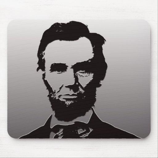 Abraham Lincoln Portrait Mouse Pad