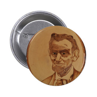 Abraham Lincoln Portrait Pinback Button
