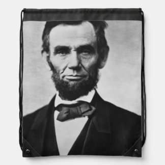 Abraham Lincoln Portrait Backpacks