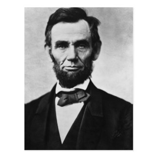 Abraham Lincoln Portrait Postcard