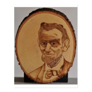 Abraham Lincoln Portrait Postcard