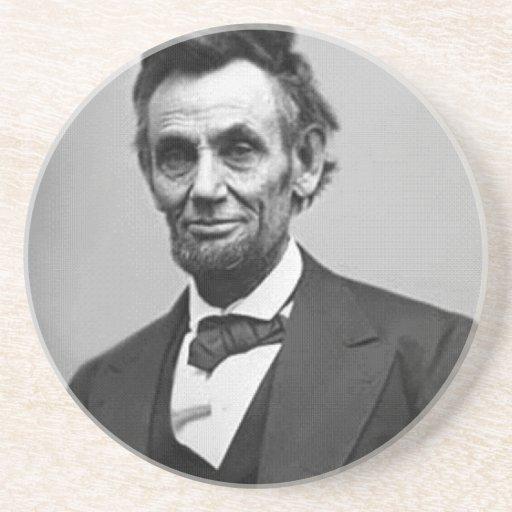 Abraham Lincoln Posavasos Manualidades