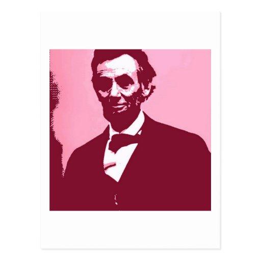 Abraham Lincoln Postcard