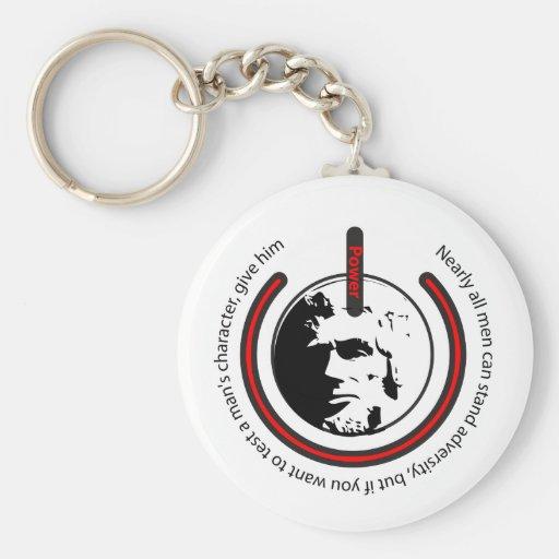 Abraham Lincoln Power Key Chains