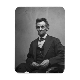 Abraham Lincoln Rectangle Magnets