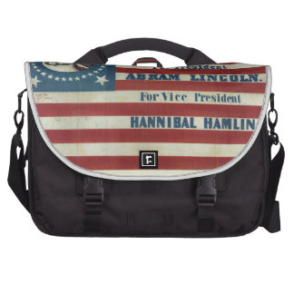 Abraham Lincoln Presidency Campaign Banner Flag Commuter Bags