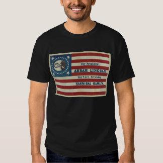 Abraham Lincoln Presidency Campaign Banner Flag Shirt