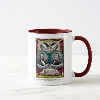 Abraham Lincoln  Presidential Campaign 1864 Mug