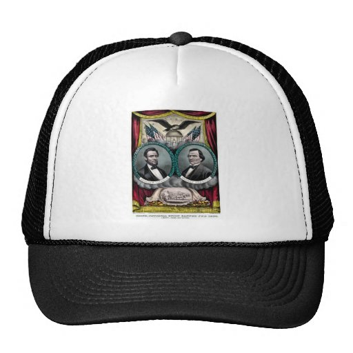 Abraham Lincoln Presidential Campaign 1864 Trucker Hat