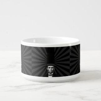 Abraham Lincoln Presidential Fashion Statement Bowl