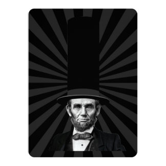 Abraham Lincoln Presidential Fashion Statement Card