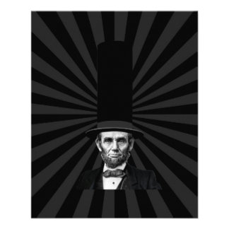 Abraham Lincoln Presidential Fashion Statement Flyer