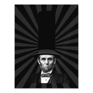Abraham Lincoln Presidential Fashion Statement Magnetic Card