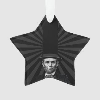 Abraham Lincoln Presidential Fashion Statement Ornament